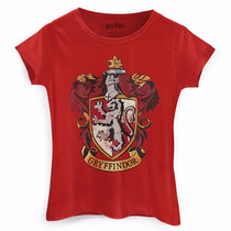 Camiseta Feminina Harry Potter Gryffindor - Bandup!