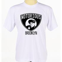 Camisa Camiseta Estampada Notorius Big Rap Rapper Banda