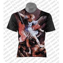 Camiseta Católica - São Miguel Arcanjo