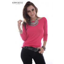 Blusa Costas Aberta - Kam Bess - Bl2002