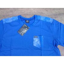 Camiseta Com Bolso Masculina Marca De Surf Skate Quik Oakley