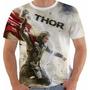Camiseta Thor Super Heroi Vingadores Marvel