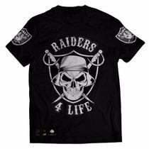 Camisa Camiseta Blusa Fã Spirit Oakland Raiders Nfl Swag Rap