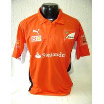 Camisa Polo Scuderia Ferrari Marlboro - Puma - Formula 1