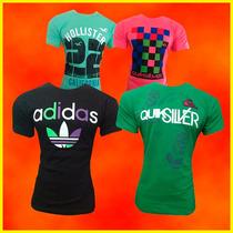 Kit 20 Camisetas Masculina Hollister Ou Nike Imperdível!!!