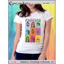 Blusa Feminina Carolina Lara - Camiseta Caveira Fashion