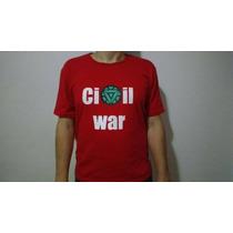 Blusa, Guerra Civil, Marvel, Homem De Ferro
