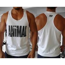 Camiseta Regata Animal Pak Golds Gym Zyzz Arnold P4rra Gain