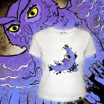 Camiseta Baby Look Feminina Exclusiva Voraz T-shirt - Coruja