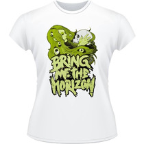 Baby Look Bring Me The Horizon Bmth Camiseta Camisa Rock