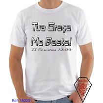Camiseta Evangélica Gospel Religiosa Cristãs