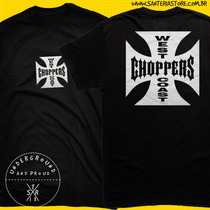 Camiseta Brian O´conner Fast And Furious West Coast Choppers