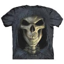 Camisa 3d Caveira Personalizada Estampada Lembranças Herois