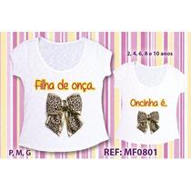 Tal Mae Tal Filha T-shirt Atacado Camisetas Blusas Camisas