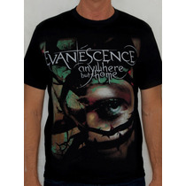 Camiseta Evanescence - Anywhere But Home
