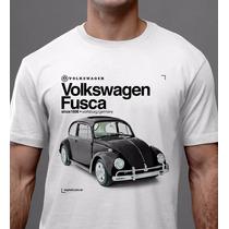 Camiseta Fusca Volkswagen Volks Carro Antigo Since - Asphalt
