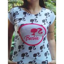 Kit 10 Camiseta Menina Feminino Revender Baby Look Desenhos