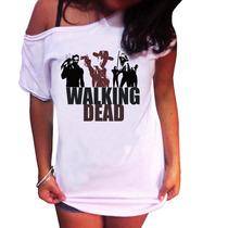 Camiseta T-shirt Feminina -the Walking Dead,
