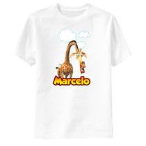 Camiseta Personalizada Madagascar - Melman