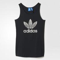 Camiseta Regata Adidas Originals Trefoil De R$89,90 Por