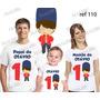 Lembrança De Aniversario Soldadinho De Chumbo Camiseta Kit 3