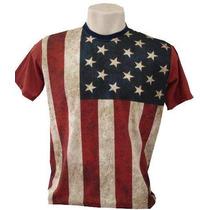 Camiseta, Regata, Baby Look Estados Unidos Eua Usa Bandeira!