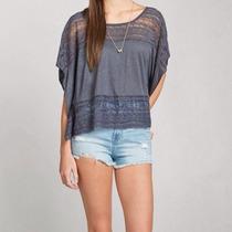 Blusa Feminina Abercrombie & Fitch Camiseta Camisa Original