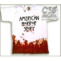 Camiseta Seriado American Horror Story - C30 Original.