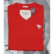 Camiseta T-shirt Da Abercrombie Fitch E Hollister Masculina
