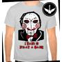 Camiseta Jogos Mortais Saw Baby Look Filme Terror Camisa