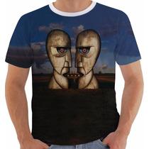 Camiseta Pink Floyd Division Bell Modelo Blue 10