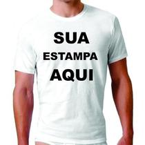 Camisetas Personalizadas - Frente E Verso