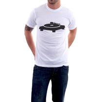 Camisetas Pick Up - Toca Discos - Dj - Masculino E Feminino