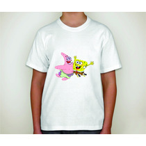 Camiseta Personalizada Bob Esponja Festa,aniversário