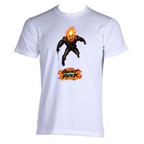 Camiseta Adulto Unissex Motoqueiro Fantasma Ghost Rider 04