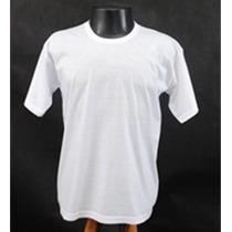 Camiseta Camisa Lisa Pra Sublimação Estampa Silk Personaliza