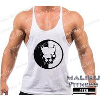 Regata Super Cavada Tank Top Cachorro Pit Bull Musculação