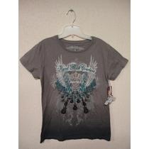 Camiseta Feminina Hard Rock Café Original Las Vegas Única Ml