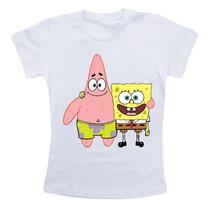 Camiseta Infantil - Bob Esponja, Patrik