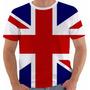 Camiseta Reino Unido Uk Union Jack Inglaterra British