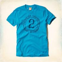 Camiseta Da Hollister Original Xl Gg Masculina Importada Usa