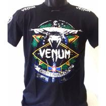 Camisa Camiseta Venum Rio Jiu Jitsu Pretorain Jaco Ufc Mma