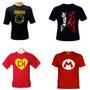 Camiseta Banda Rock, Personalizada, Anime,super Herois