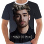 Camisa Camiseta Babylook Regata Zayn Malik Mind Of Mine