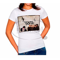 Camiseta Baby Look Feminina My Chemical Romance