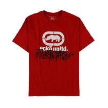 Ecko Unltd. Homens Vandal Drip Camiseta Estampa