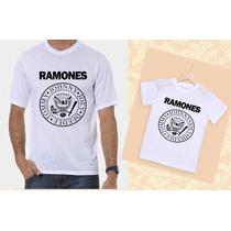 Camiseta Tal Pai Tal Filho Ramones