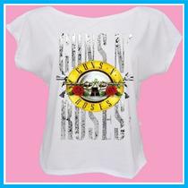Blusa Feminina Guns N Roses, Banda, Rock, Música