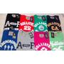 Kit C/10 Camisas Abercrombie -aeropostale -hollister R$ 230