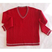 Blusa Infantil Tricot Trança Agasalho Criança Inverno Menino